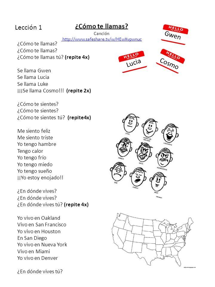 ¿Cómo te llamas. Canción http://www.safeshare.tv/w/HEwXvpwnuc ¿Cómo te llamas.