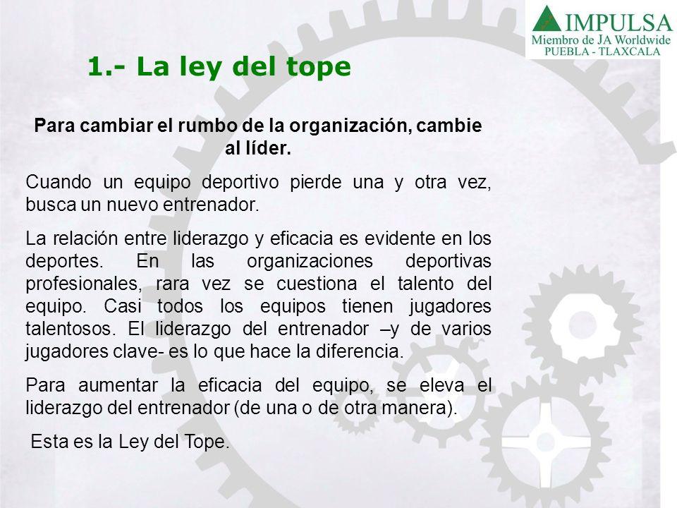 8.- La ley de la intuición De todas las leyes del liderazgo, la Ley de la Intuición es tal vez la más difícil de entender.