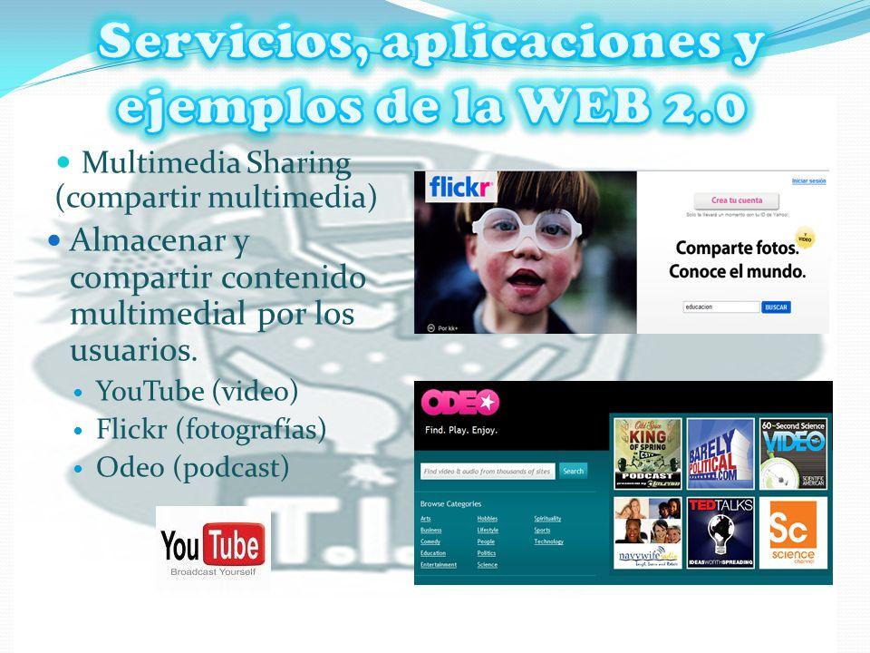 Servicios, aplicaciones y ejemplos de la WEB 2.0 WIKIS Sitio Web o conjunto de páginas web de construcción colectiva, con un tema específico en el que los usuarios tienen libertad de adicionar, eliminar o editar contenidos.