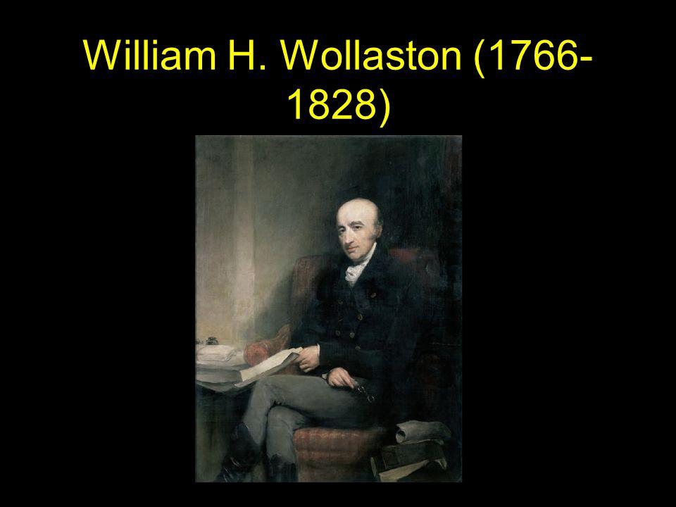 William H. Wollaston (1766- 1828)