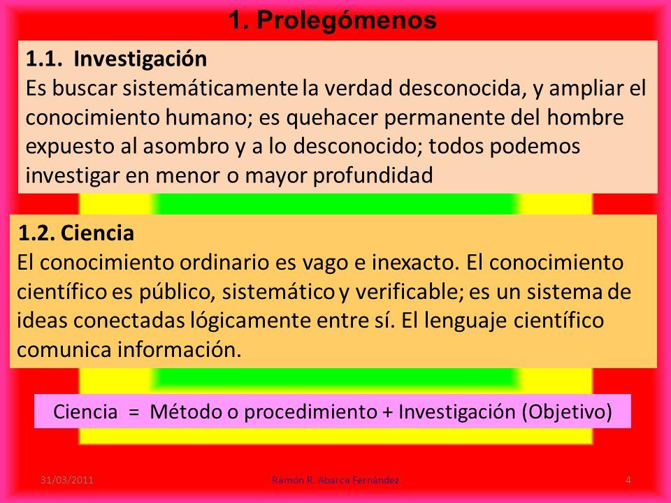 1.Prolegómenos 1.1.
