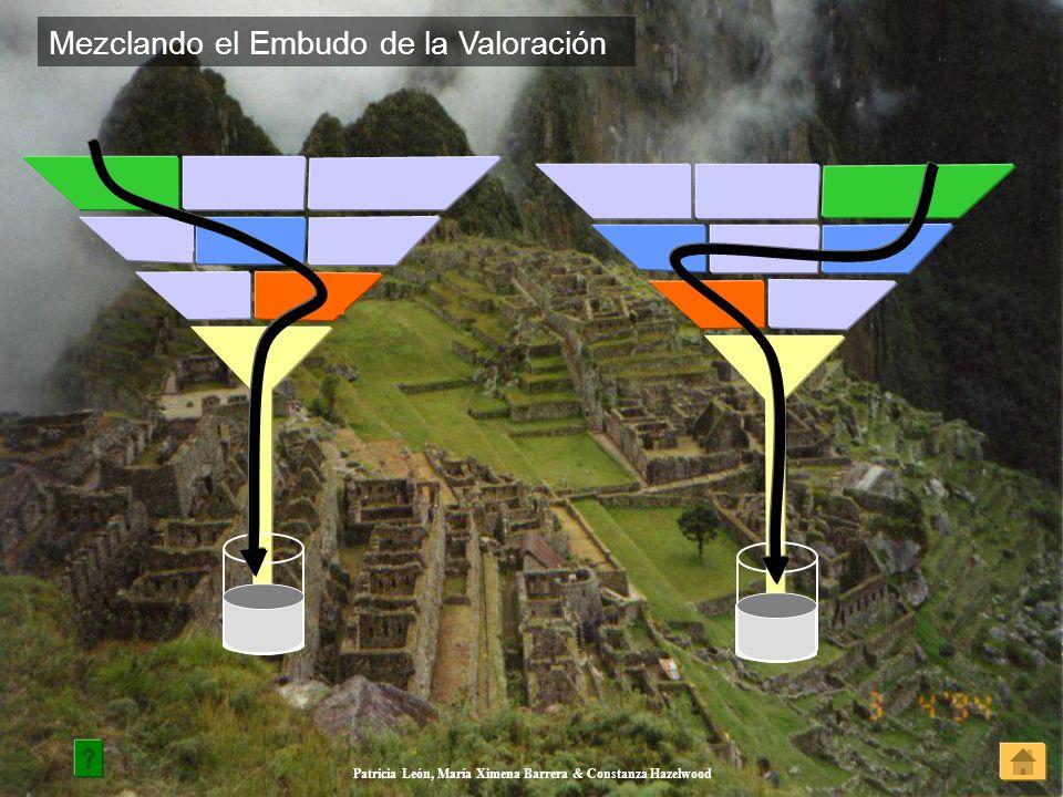 Patricia León, María Ximena Barrera & Constanza Hazelwood Mezclando el Embudo de la Valoración