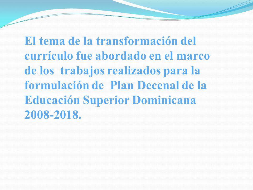 Sector Salud en el 2008 se inició un proceso normativo, estandarizado y de evaluación periódica de los programas de formación en salud para que cumplan con los requisitos y estándares internacionales y los establecidos por el CONESCyT