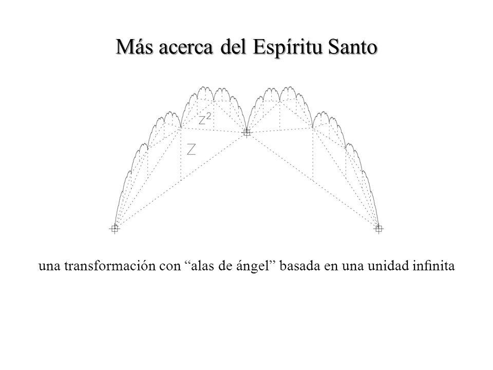 una transformación con alas de ángel basada en una unidad innita
