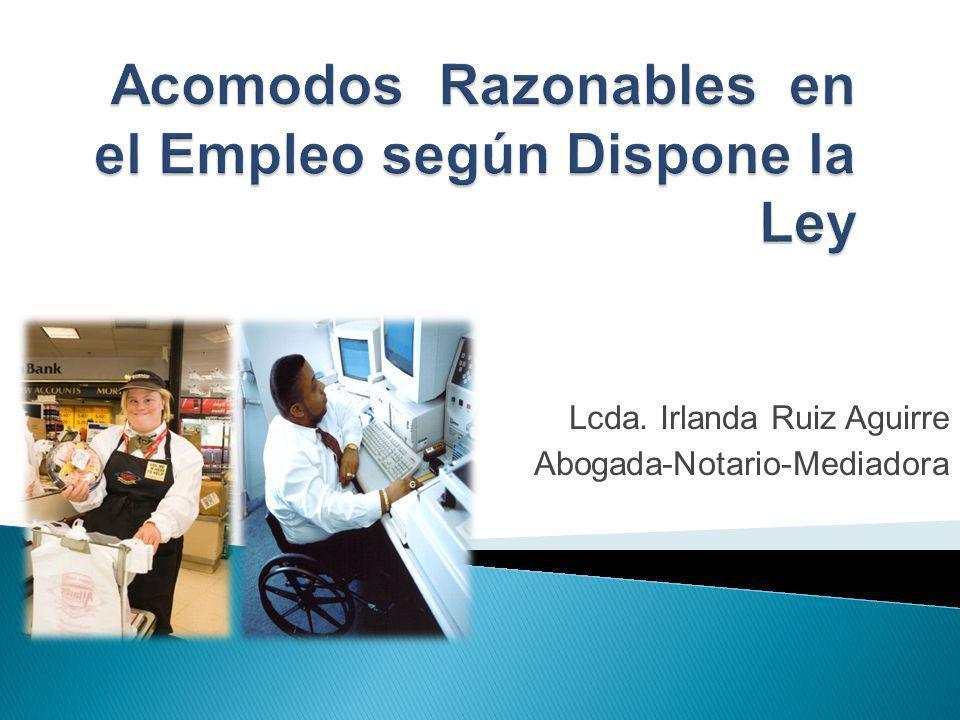 Lcda. Irlanda Ruiz Aguirre Abogada-Notario-Mediadora