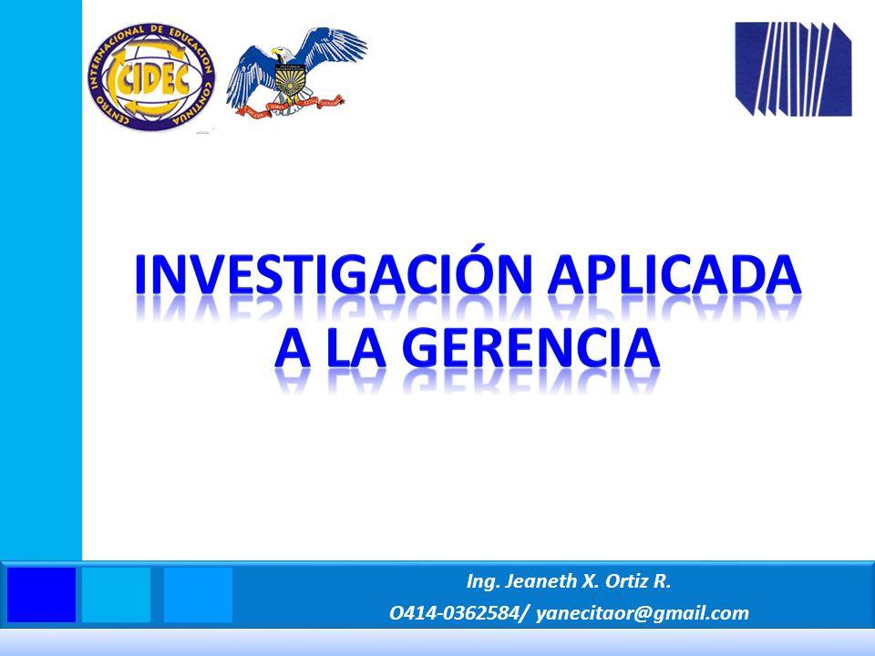 Sabino, C.(2002) El Proceso de Investigación. Caracas: Editorial Panapo de Venezuela.