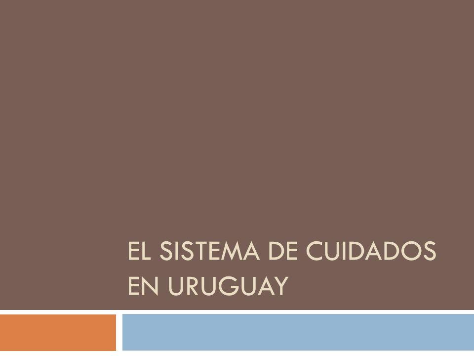 EL SISTEMA DE CUIDADOS EN URUGUAY
