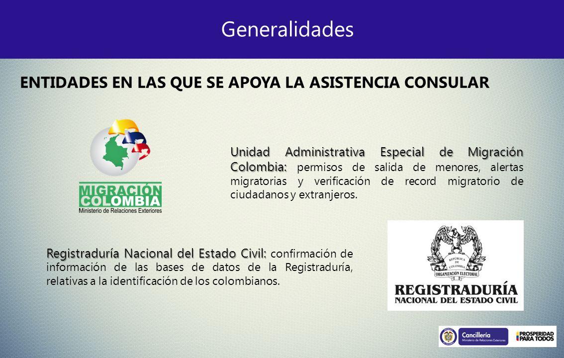 Generalidades Registraduría Nacional del Estado Civil: Registraduría Nacional del Estado Civil: confirmación de información de las bases de datos de l