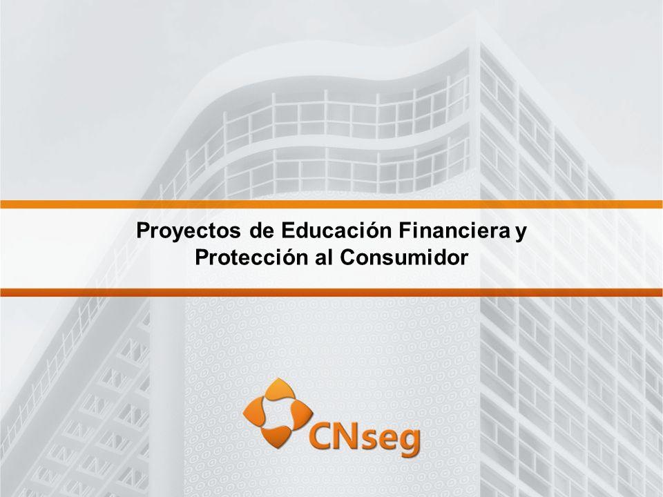 Proyectos de Educación Financiera y Protección al Consumidor