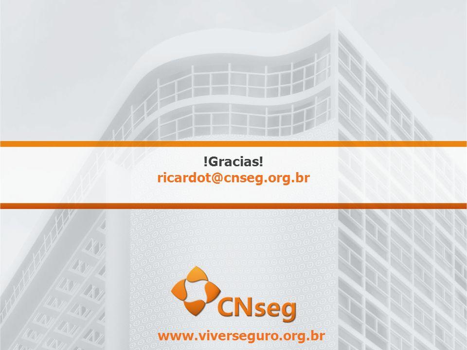 !Gracias! ricardot@cnseg.org.br www.viverseguro.org.br