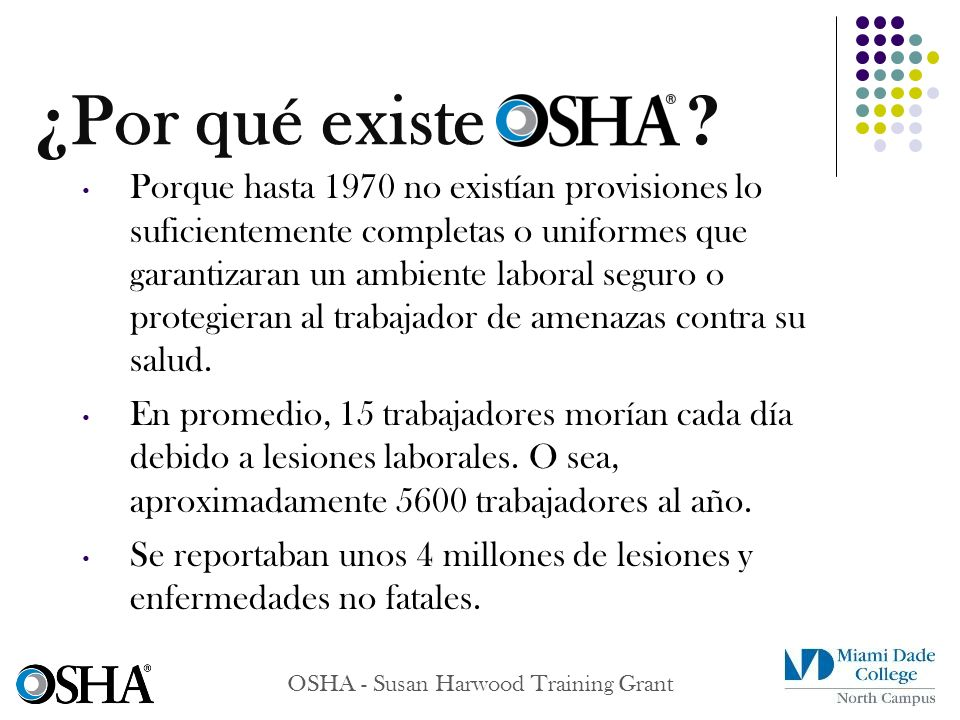 OSHA - Susan Harwood Training Grant Review of Notices of Contest