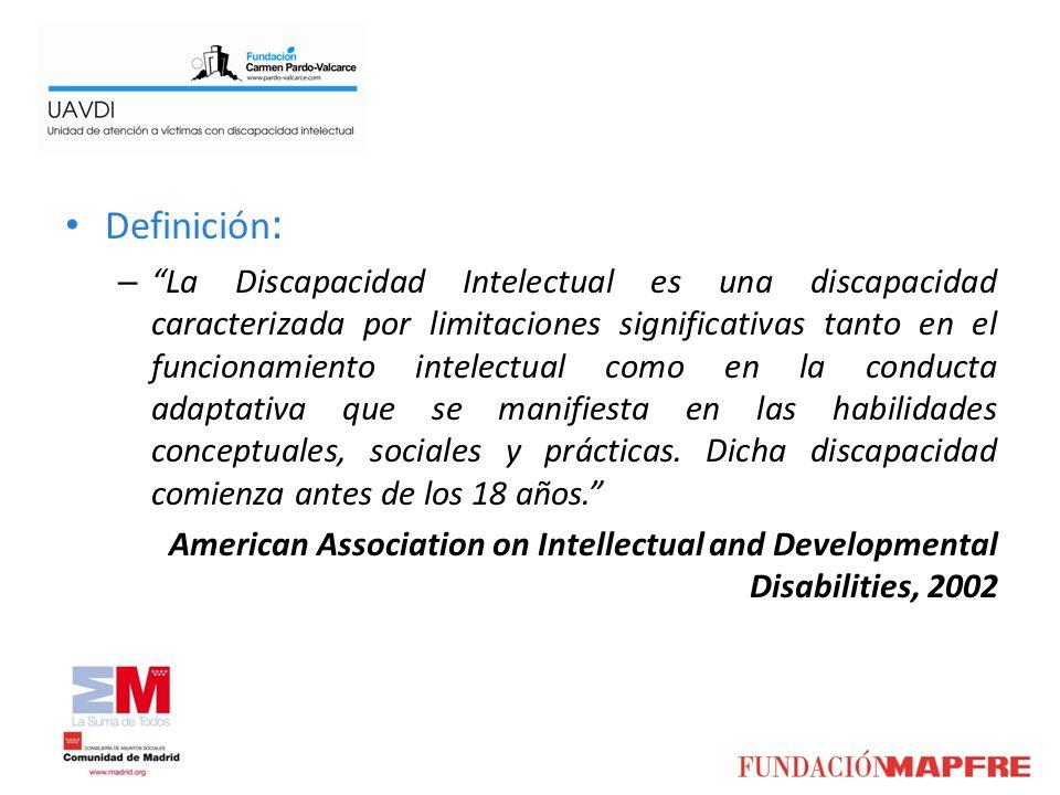Definición : – La Discapacidad Intelectual es una discapacidad caracterizada por limitaciones significativas tanto en el funcionamiento intelectual co