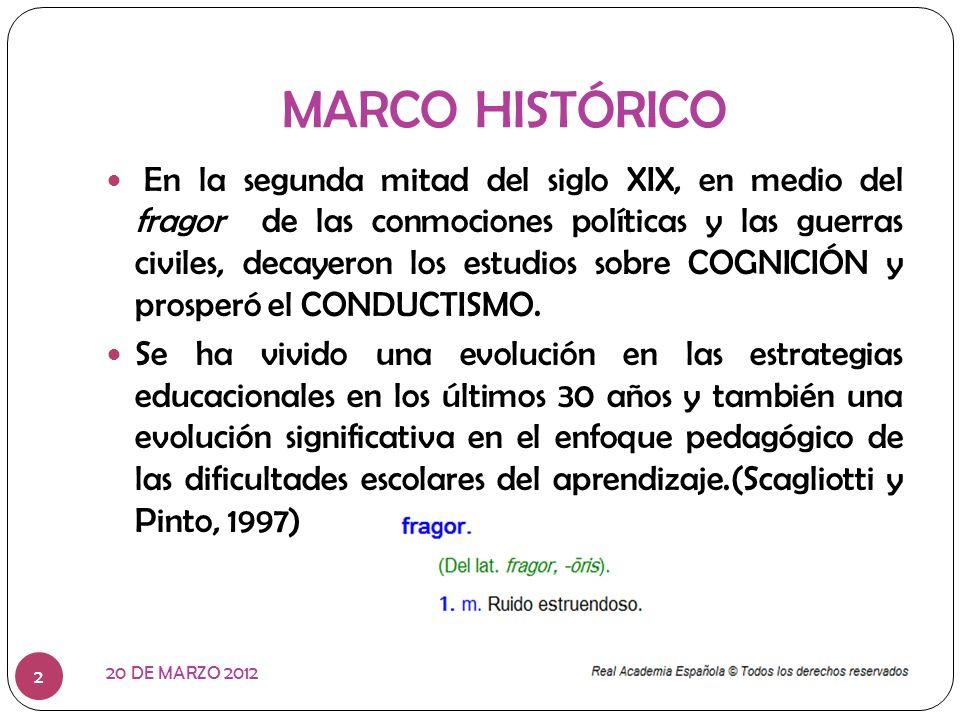 Érase una vez… 20 DE MARZO 2012 3 Un personaje muy famoso llamado CONDUCTISMO y su papel en la formación educativa era protagónico.