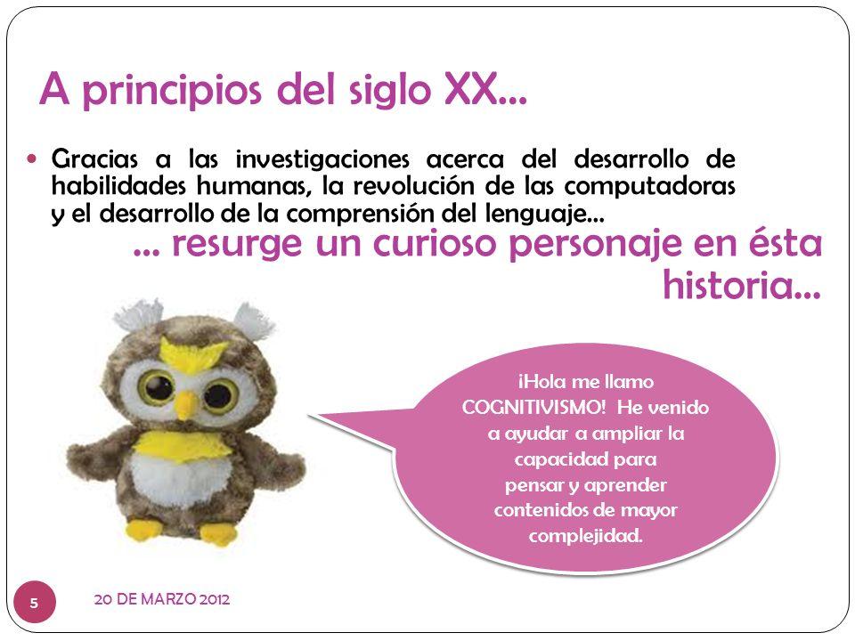 UN NUEVO PARADIGMA 20 DE MARZO 2012 6 El aprendizaje como proceso mental activo de adquisición de conocimientos.
