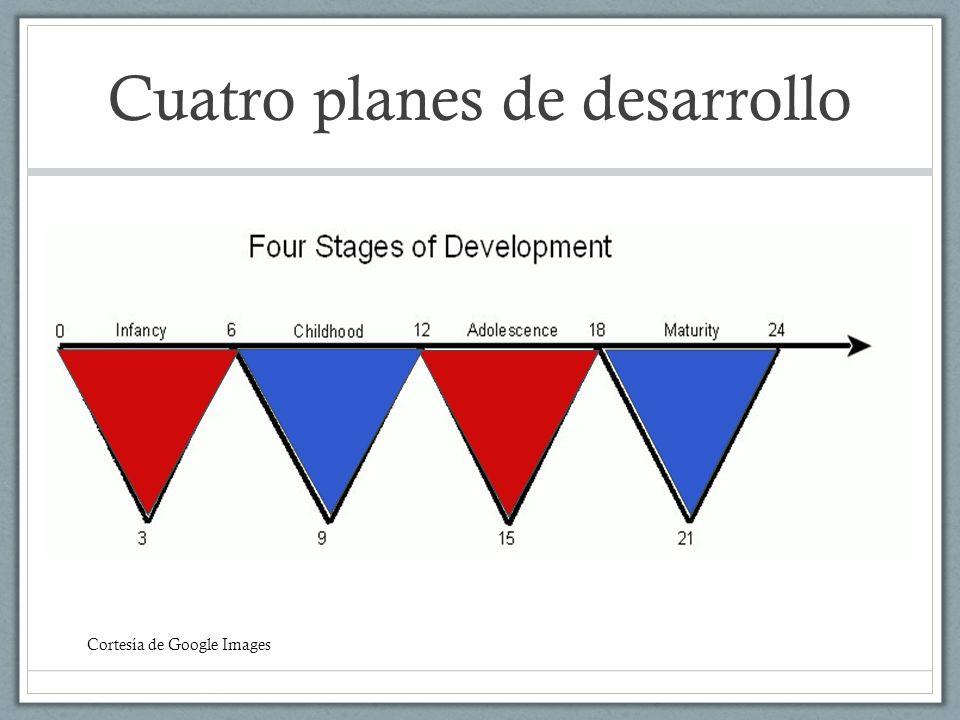 Cuatro planes de desarrollo Cortesía de Google Images