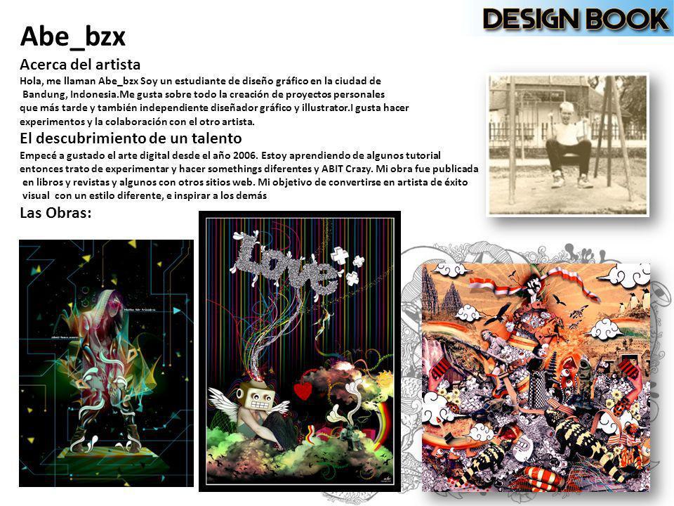 Abe_bzx Acerca del artista Hola, me llaman Abe_bzx Soy un estudiante de diseño gráfico en la ciudad de Bandung, Indonesia.Me gusta sobre todo la creac