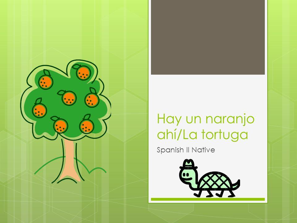 Hay un naranjo ahí/La tortuga Spanish II Native