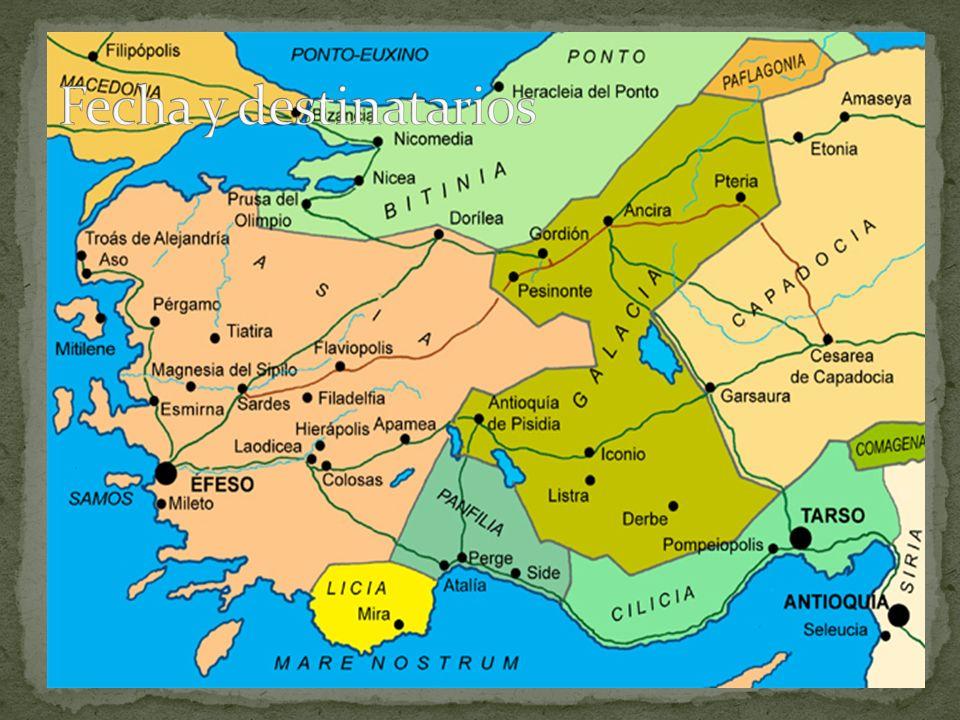 1.Llegaron los judaizantes a las iglesias en Galacia.