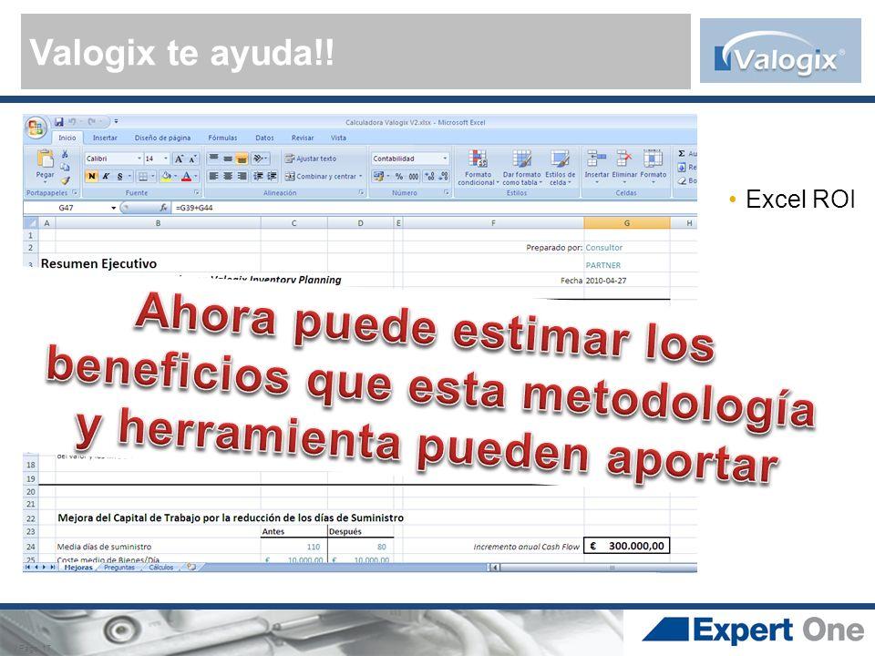 Valogix te ayuda!! / Page 17 Excel ROI