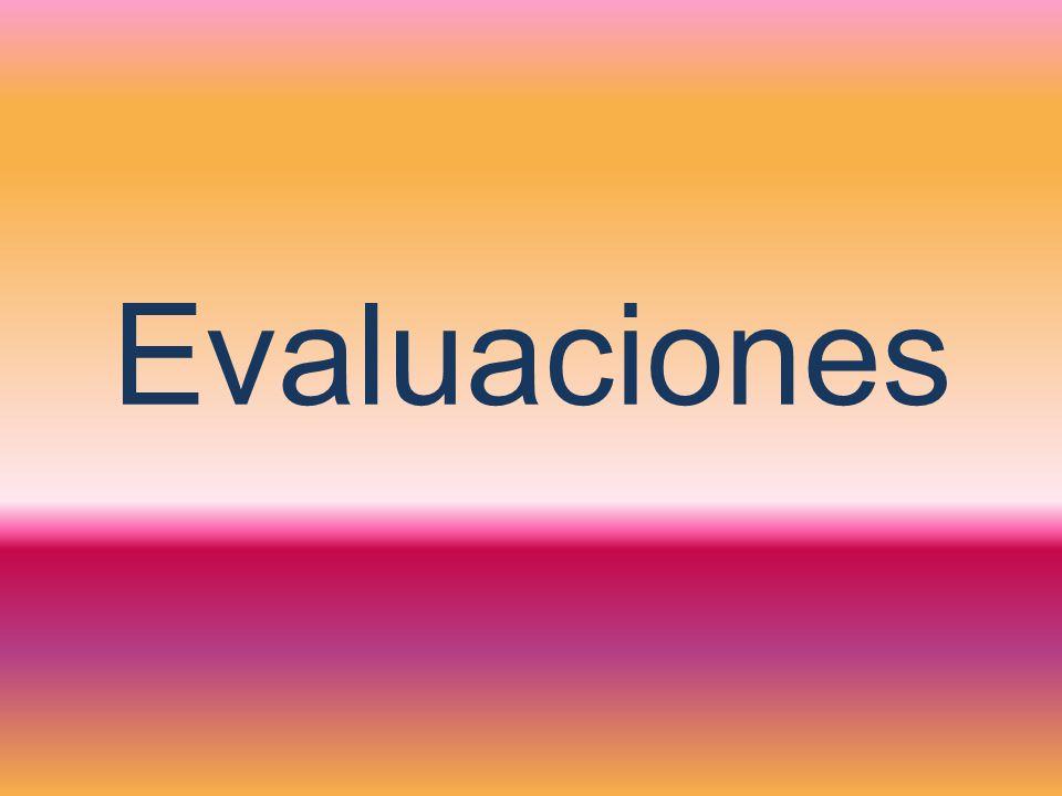Evaluaciones