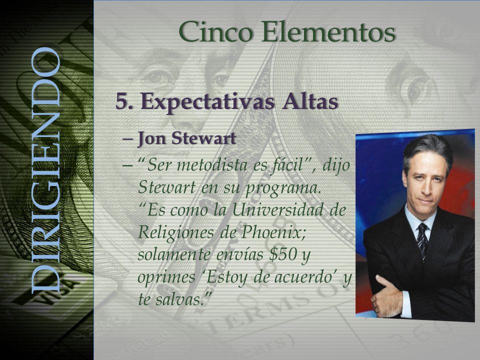 – Jon Stewart –– Ser metodista es fácil, dijo Stewart en su programa. Es como la Universidad de Religiones de Phoenix; solamente envías $50 y oprimes