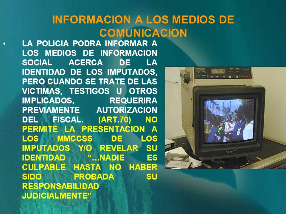 POLICIA ENCARGADO DE LA INVESTIGACION PRELIMINAR INFORME POLICIAL ELABORARA Antecedentes que motivaron su intervención Relación diligencias que actuó