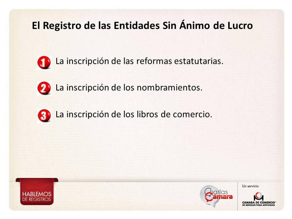 Otros aspectos Registrales del Sector Solidario Disolución y liquidación.