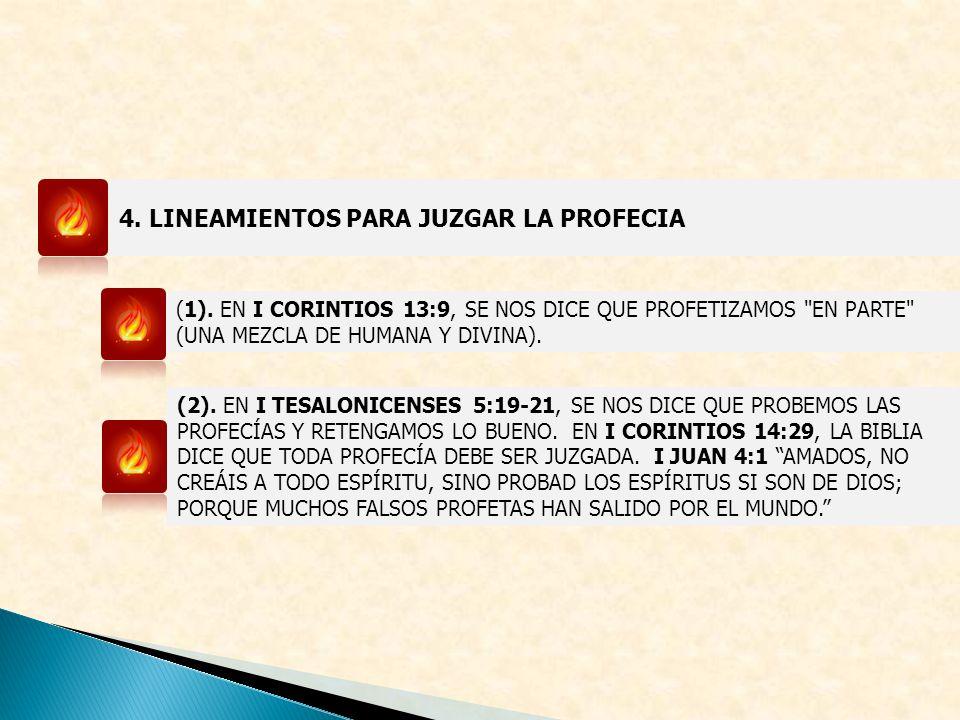 4.LINEAMIENTOS PARA JUZGAR LA PROFECIA (1).