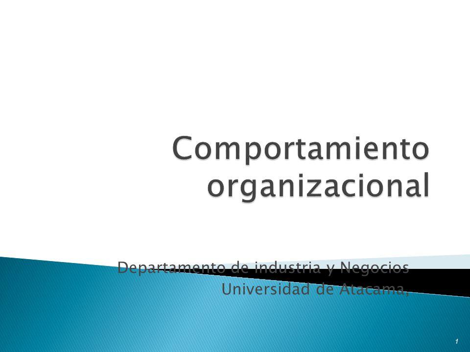 Departamento de industria y Negocios Universidad de Atacama, 1
