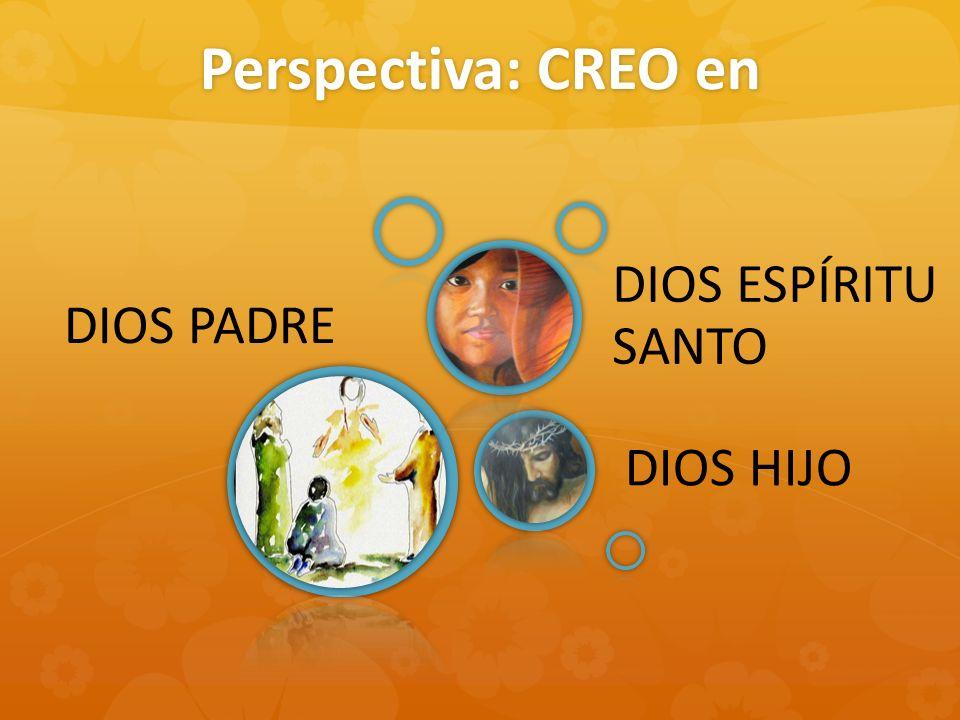 Perspectiva: CREO en DIOS PADRE DIOS HIJO DIOS ESPÍRITU SANTO