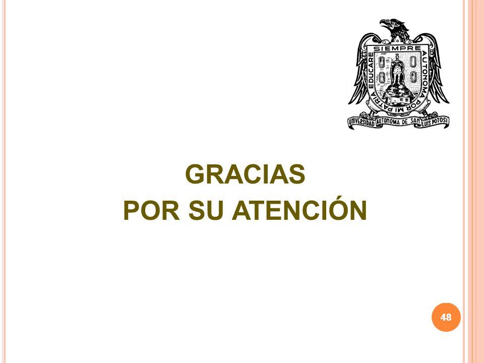 48 GRACIAS POR SU ATENCIÓN 48