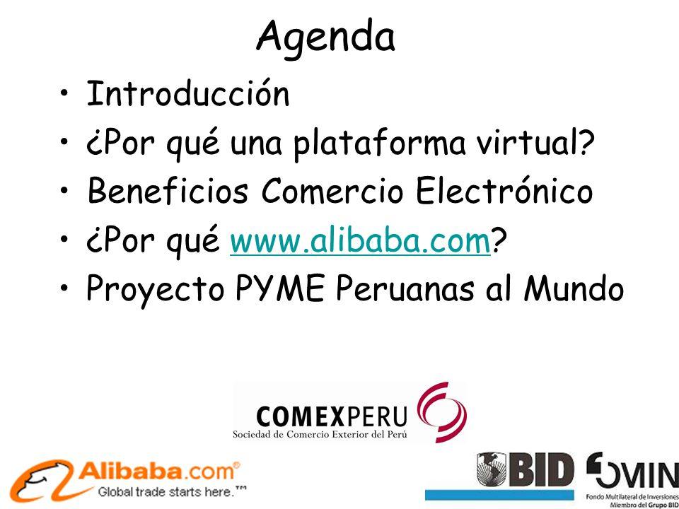 Agenda Introducción ¿Por qué una plataforma virtual.