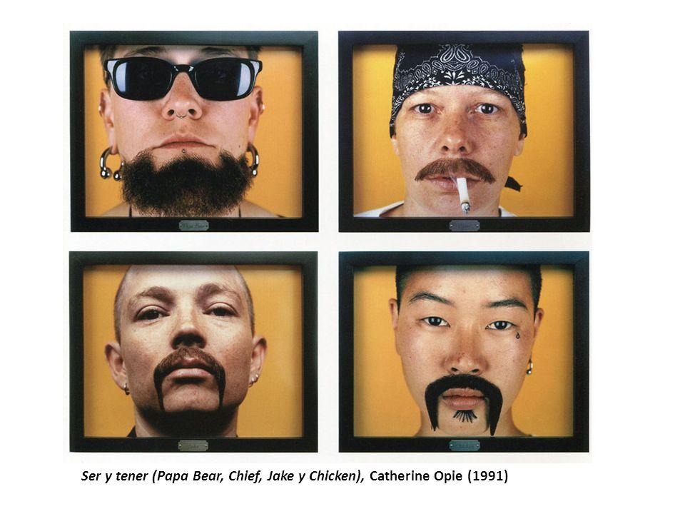 Ser y tener (Papa Bear, Chief, Jake y Chicken), Catherine Opie (1991)