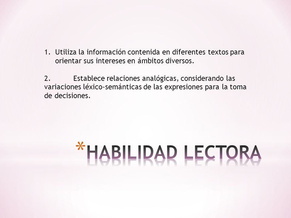* TIPO DE TEXTO:NARRATIVO * PROCESO COGNITIVO: - EXTRACCION DE INFORMACION: What is the structure used to talk about plans.