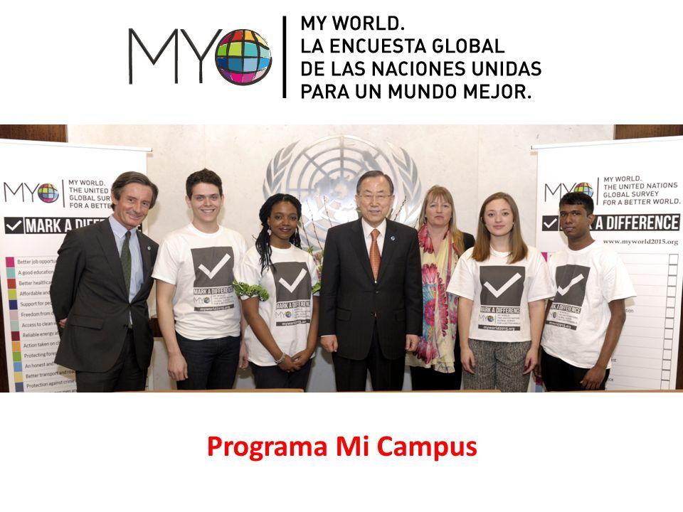 Los jóvenes deben estar a la vanguardia del cambio global y la innovación.
