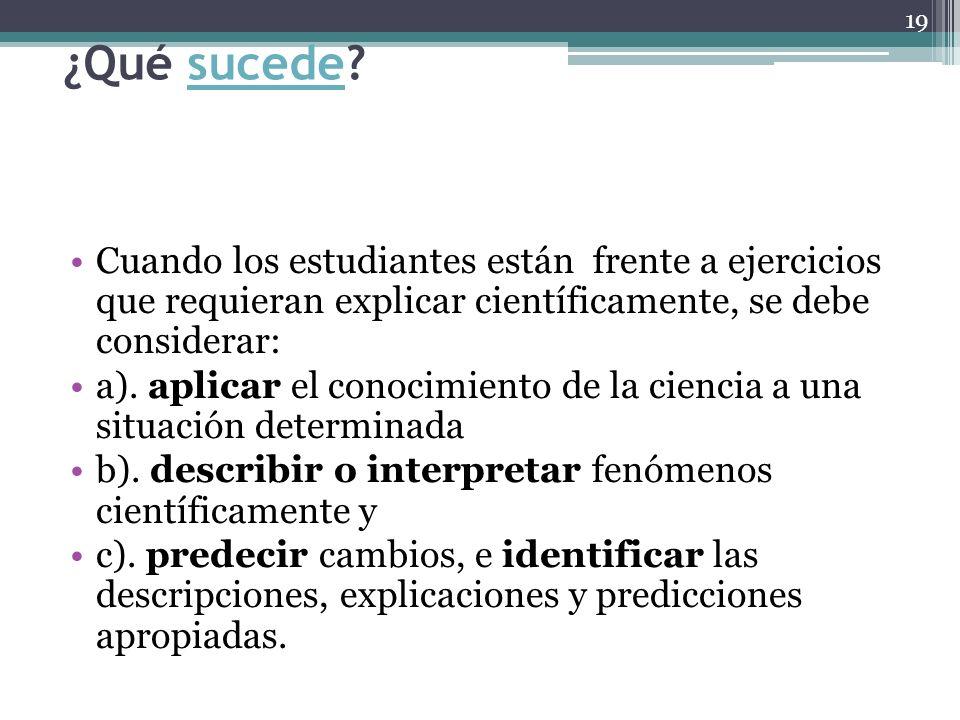 20 1.La primera estrategia fundamental es preguntarle a la pregunta.