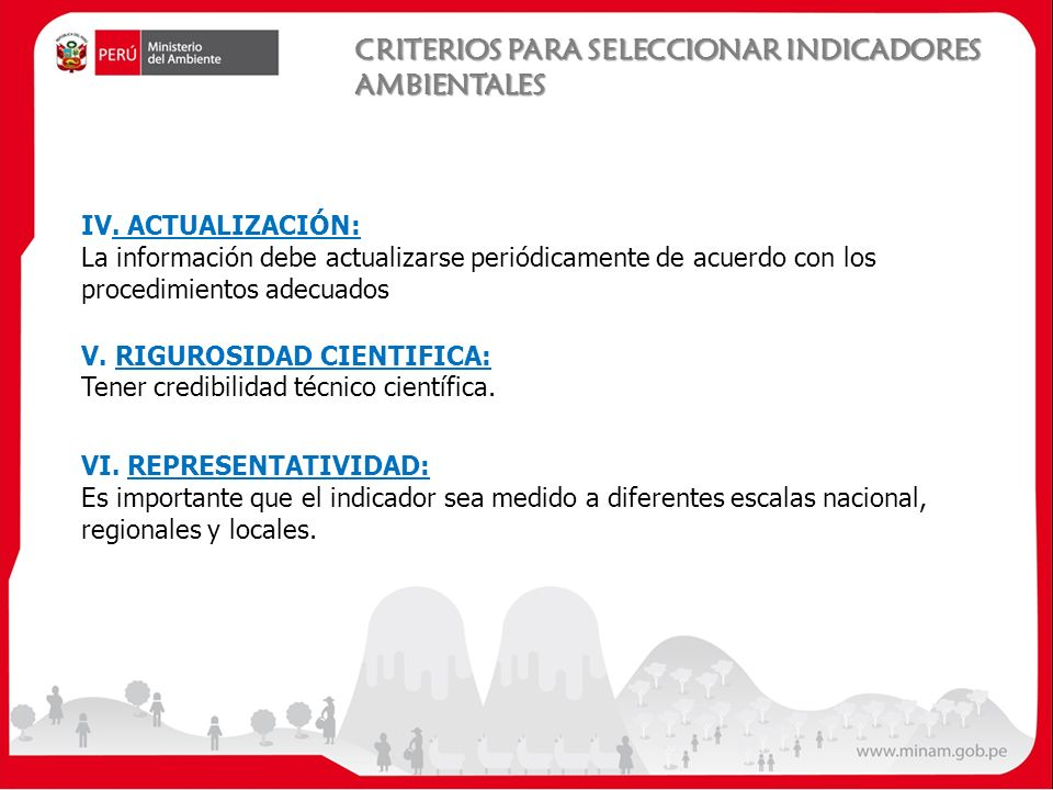 IV. ACTUALIZACIÓN: La información debe actualizarse periódicamente de acuerdo con los procedimientos adecuados V. RIGUROSIDAD CIENTIFICA: Tener credib