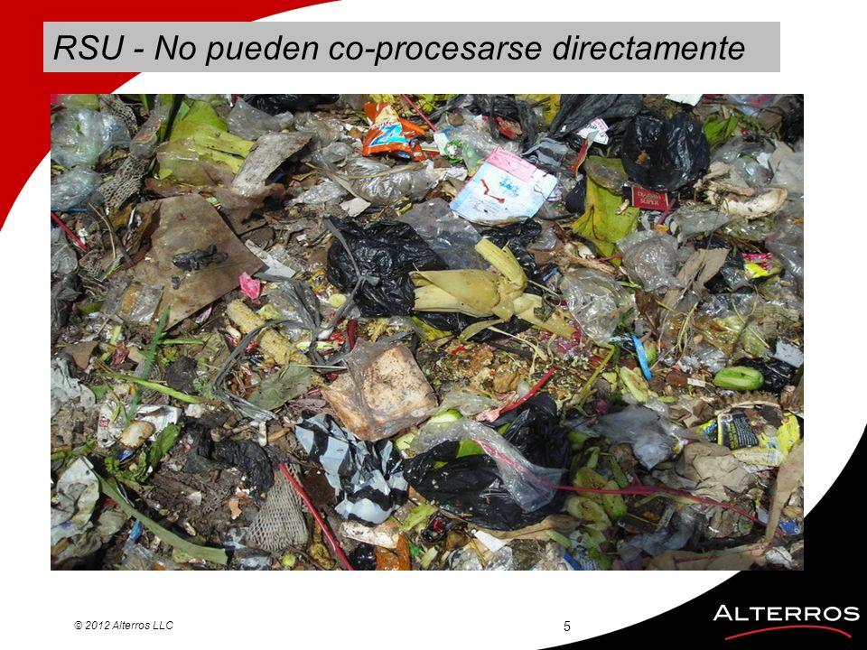 RSU - No pueden co-procesarse directamente © 2012 Alterros LLC 5