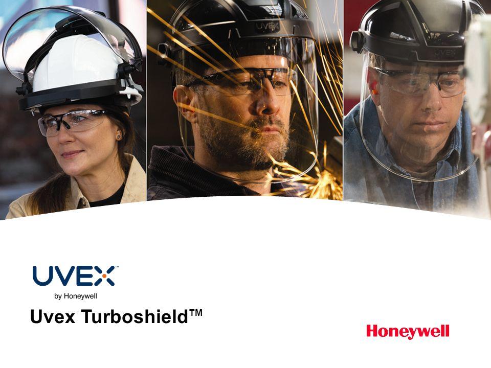 12HONEYWELL - CONFIDENCIAL Uvex Turboshield CAMBIANDO EL ROSTRO DE LA SEGURIDAD CARACTERÍSTICABENEFICIO Ajuste cómodo y personalizado Perillas de control grandes y ergonómicas para un fácil ajuste (incluso con guantes colocados).