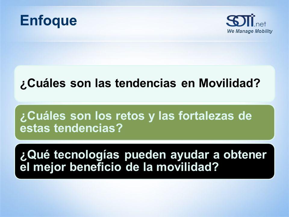 We Manage Mobility Encuesta Rapida #1