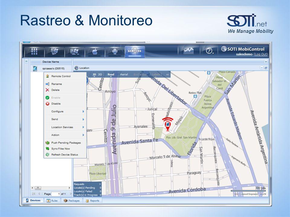 We Manage Mobility Rastreo & Monitoreo