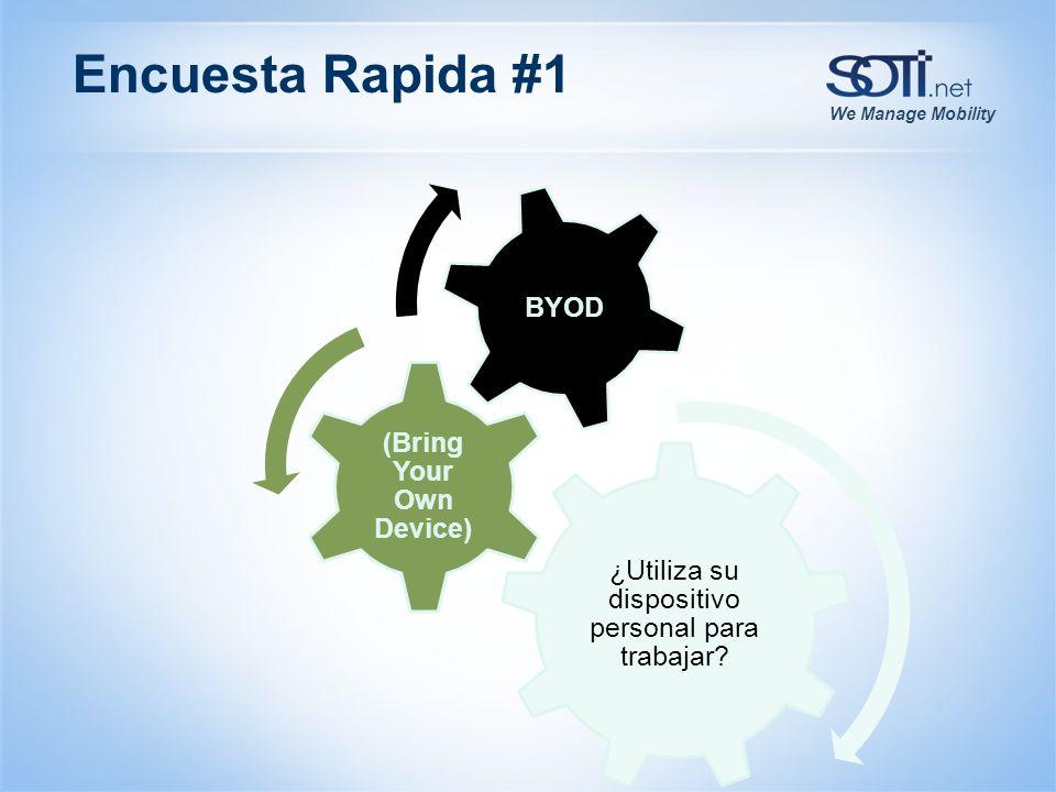 We Manage Mobility Que es BYOD.