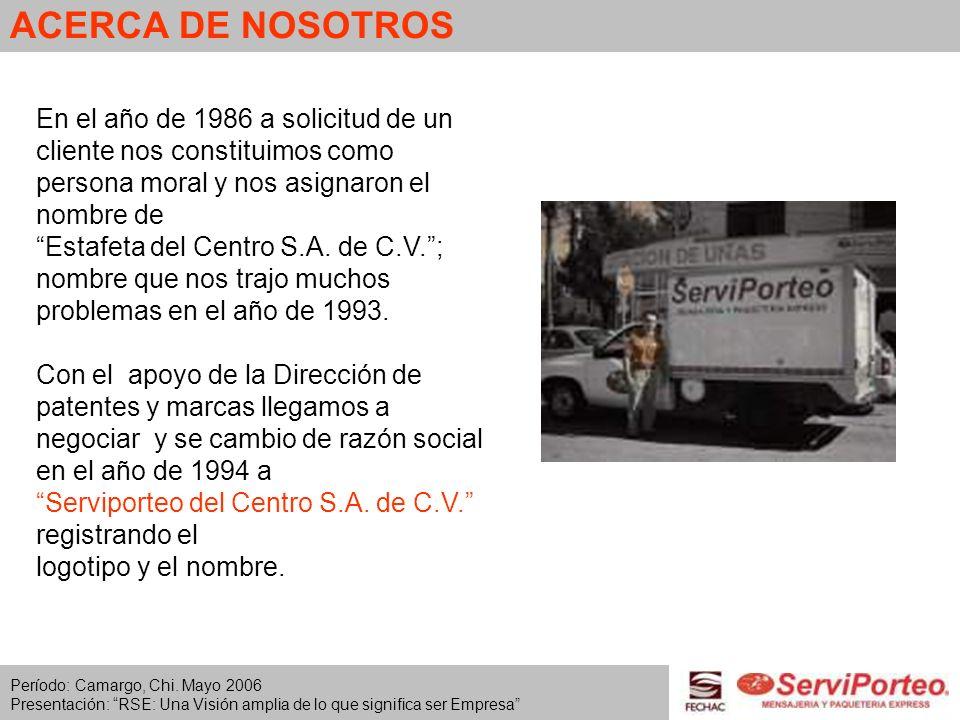 EN EL CAMINO DE LA RSE - Campañas internas para el cuidado del Agua y la Energía Eléctrica.