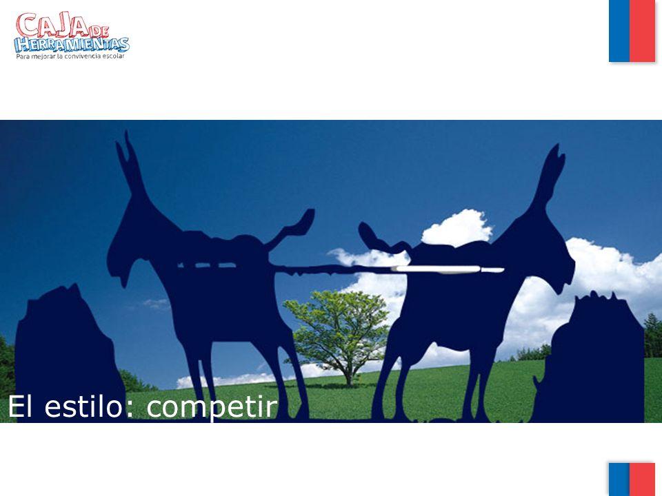 El estilo: competir