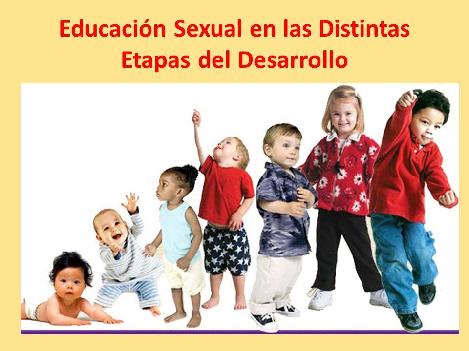 Educación Sexual en las Distintas Etapas del Desarrollo