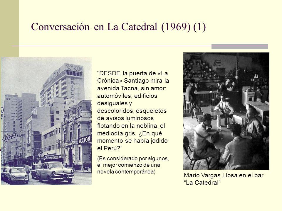 Conversación en La Catedral (1969) (2) Felix Arias Schreiber y su esposa Lea Barba (Jacobo y Aída de Conversación en la Catedral), ambos dirigentes socialistas de la Universidad San Marcos