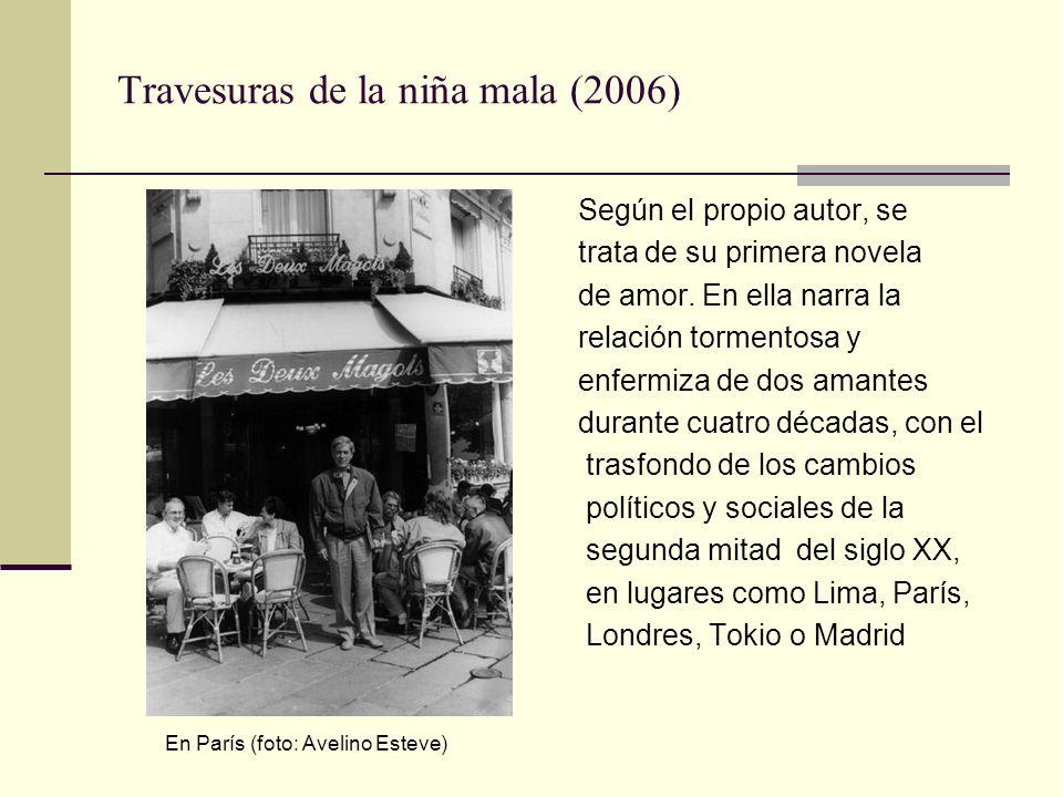 Pantaleón y las visitadoras (1973) En Iquitos (ciudad donde transcurre la novela) La historia, en clave de humor, se desarrolla en la Amazonía peruana, donde los efectivos del Ejército del Perú son atendidos por un servicio de prostitutas a quienes llaman visitadoras.