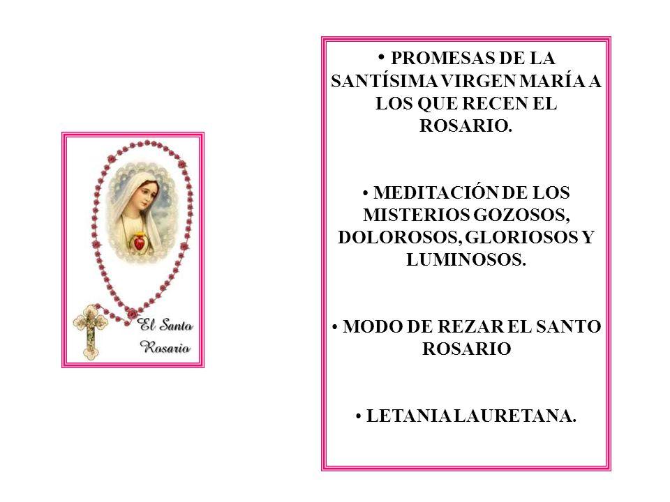 Letanía Lauretana ( Frase a frase, honramos y recordamos todo lo que la Santísima Virgen significa para nosotros) V.