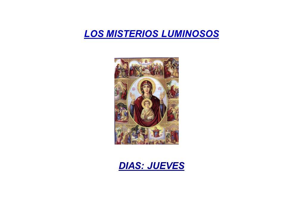 PRIMER MISTERIO LA RESURRECCIÓN DE JESÚS Pero El les dijo: