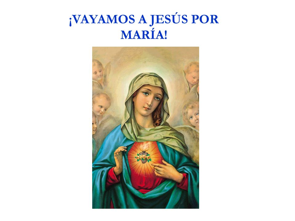 Padre Nuestro, que estás en el cielo, Santificado sea tu Nombre.